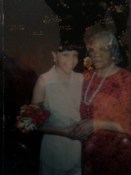 Me and Nana at my 8th grade graduation