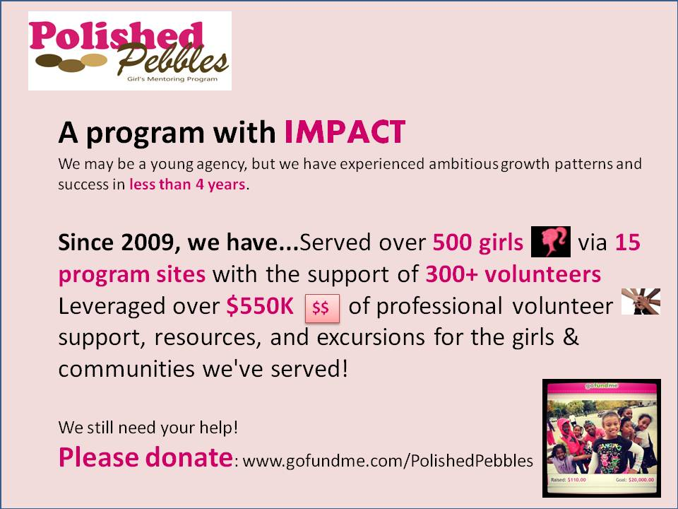 Polished Pebbles: A Program with IMPACT!