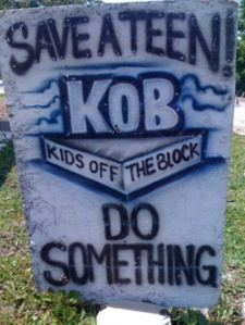 KIDS OFF THE BLOCK SAVE A TEEN