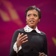 Mellody Hobson, one of the most powerful black female business women. She is the current Chairman of the Board of Directors of Dreamworks Animation.