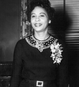 "Daisy Bates: ""No man or woman who tries to pursue an ideal in his or her won way is without enemies."""