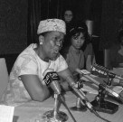 "Ella Baker: ""Strong people don't need strong leaders."""
