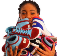 """Mo'Ne Davis, the first female pitcher to win a Little League Series--remember, """"throw like a girl""""!"""