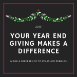 YOUR YEAR END GIVING MAKES A DIFFERENCE